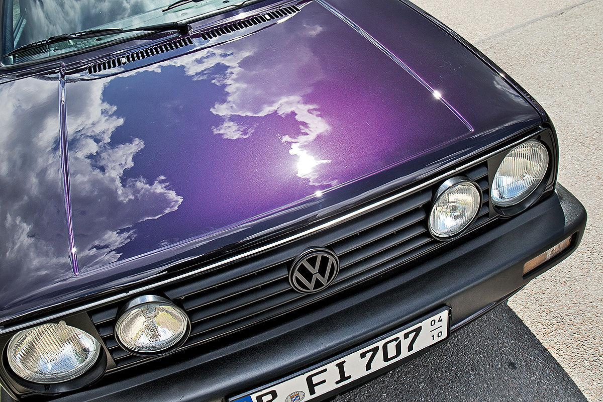 VW Golf 2 1.8 Fire & Ice