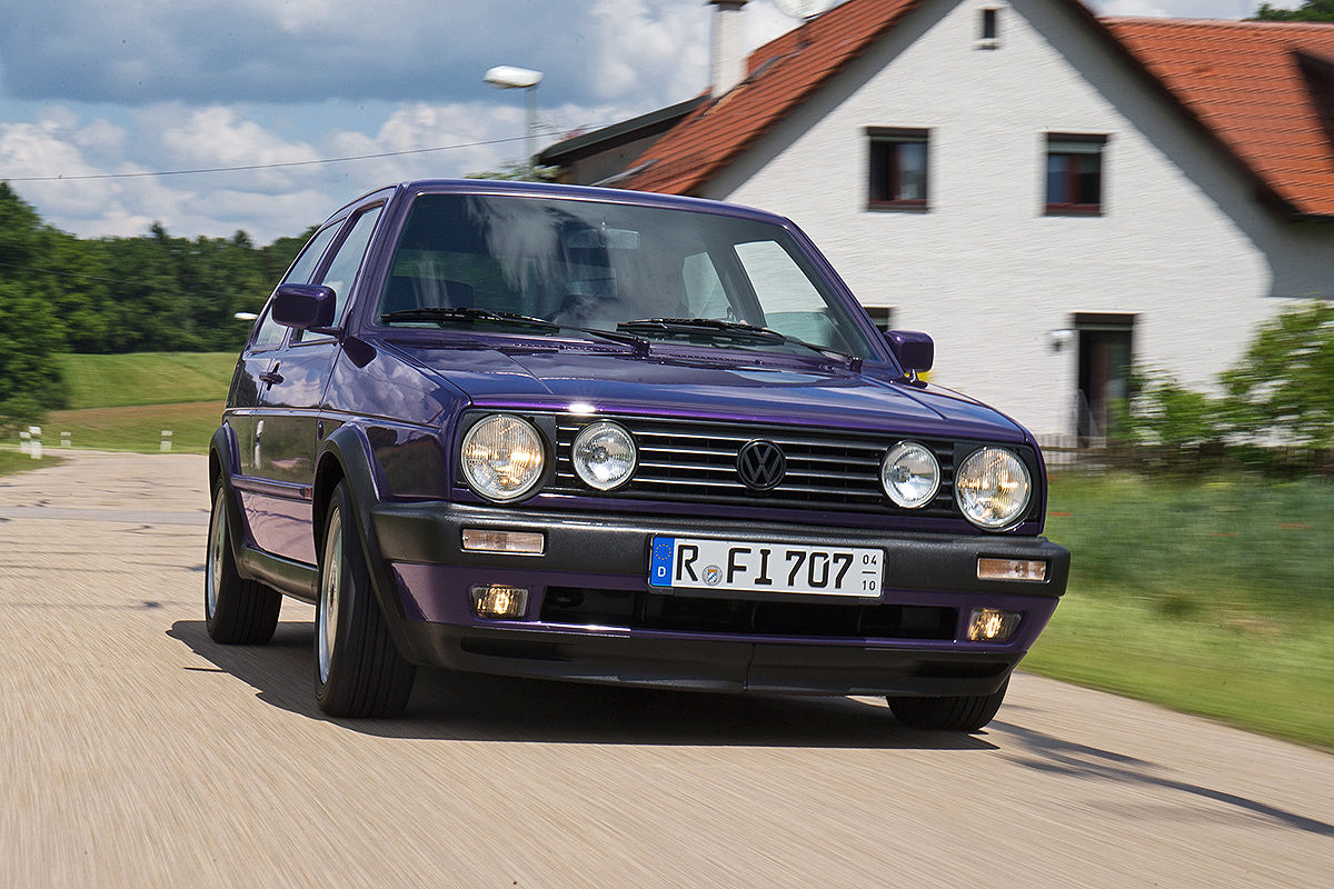 VW Golf 2 1.8 Fire & Ice