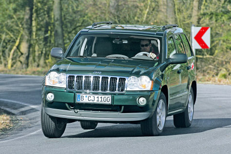 Jeep Grand Cherokee/Commander: Rückruf