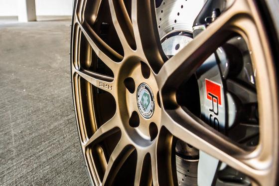Audi RS7 auf HRE P44SC in Satin Bronze
