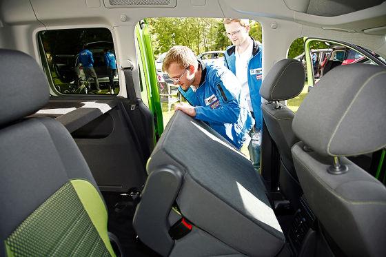ZF-Praxistest 2014 - VW Caddy