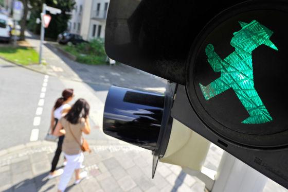 Grünes Ampelmännchen