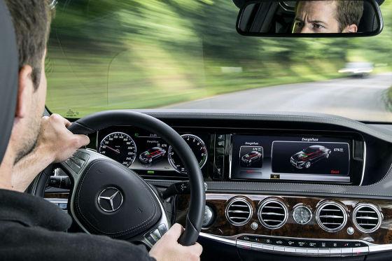 Mercedes S 500 Hybrid Innenraum
