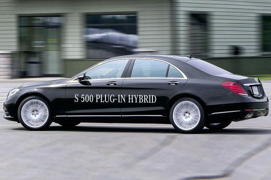 Mercedes S 500 Plug-in-Hybrid Luxuslimousine