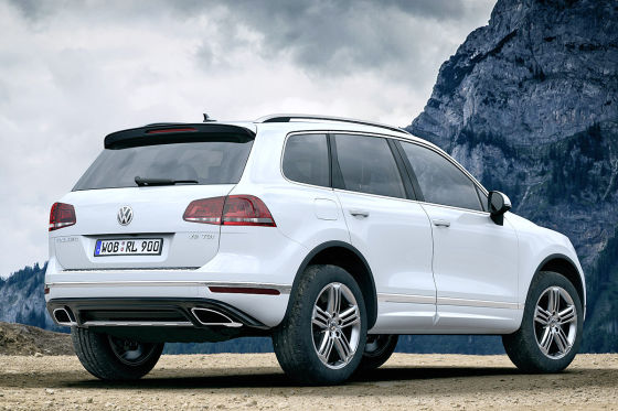 VW Touareg: Facelift 2014