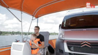 Vom Caravan zum Hausboot