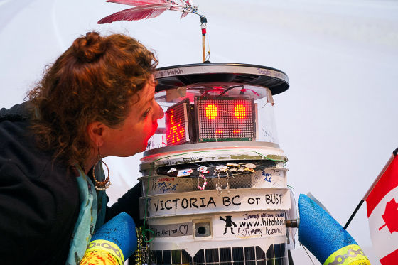 Hitchbot in Victoria