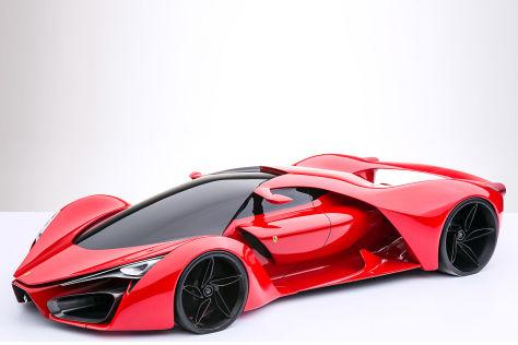Ferrari F80 Concept Vorstellung Autobild De