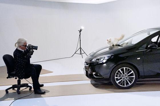 Karl Lagerfeld, Opel Corsa