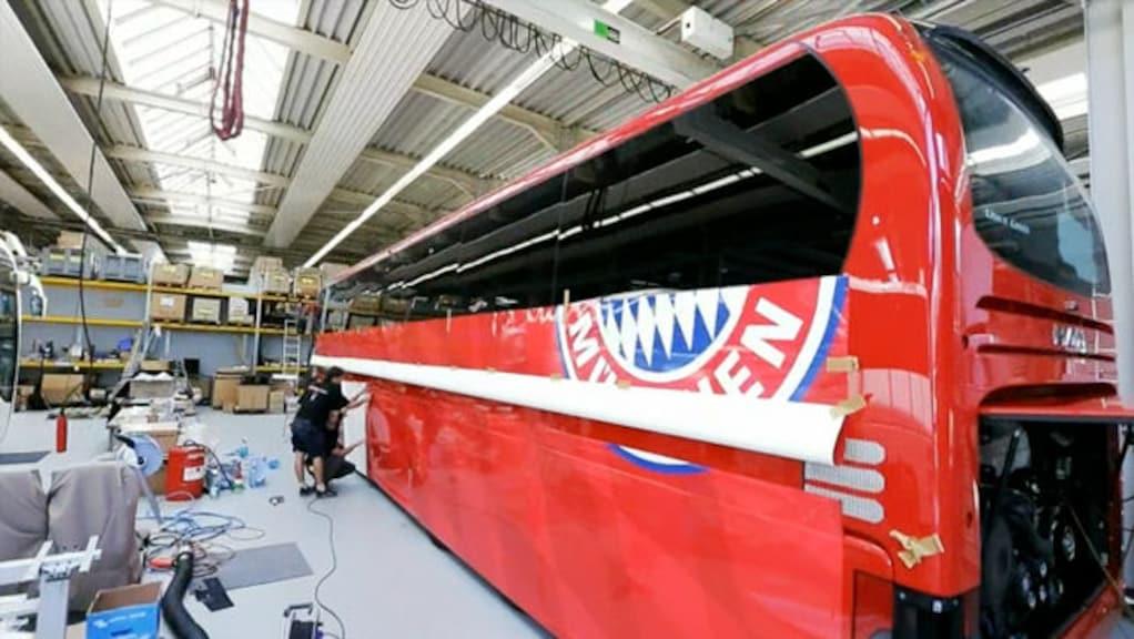 Der neue Dienstwagen der Bayernstars