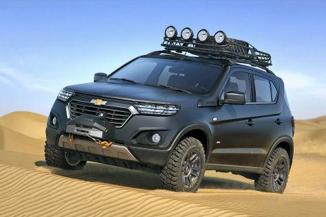 Chevrolet Niva Concept: Moskau Motor Show 2014 - autobild.de