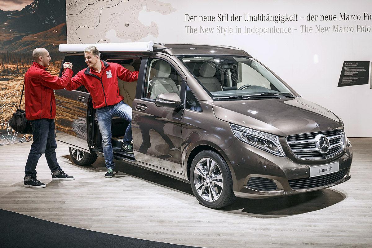 Mercedes Marco Polo Schlafprobe Bilder Autobild De