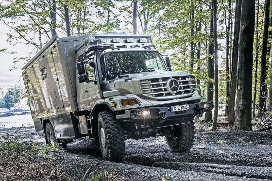 Mercedes Zetros Wohnmobil: Vorstellung - autobild.de