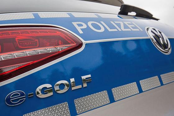 VW e-Golf Polizeiwagen