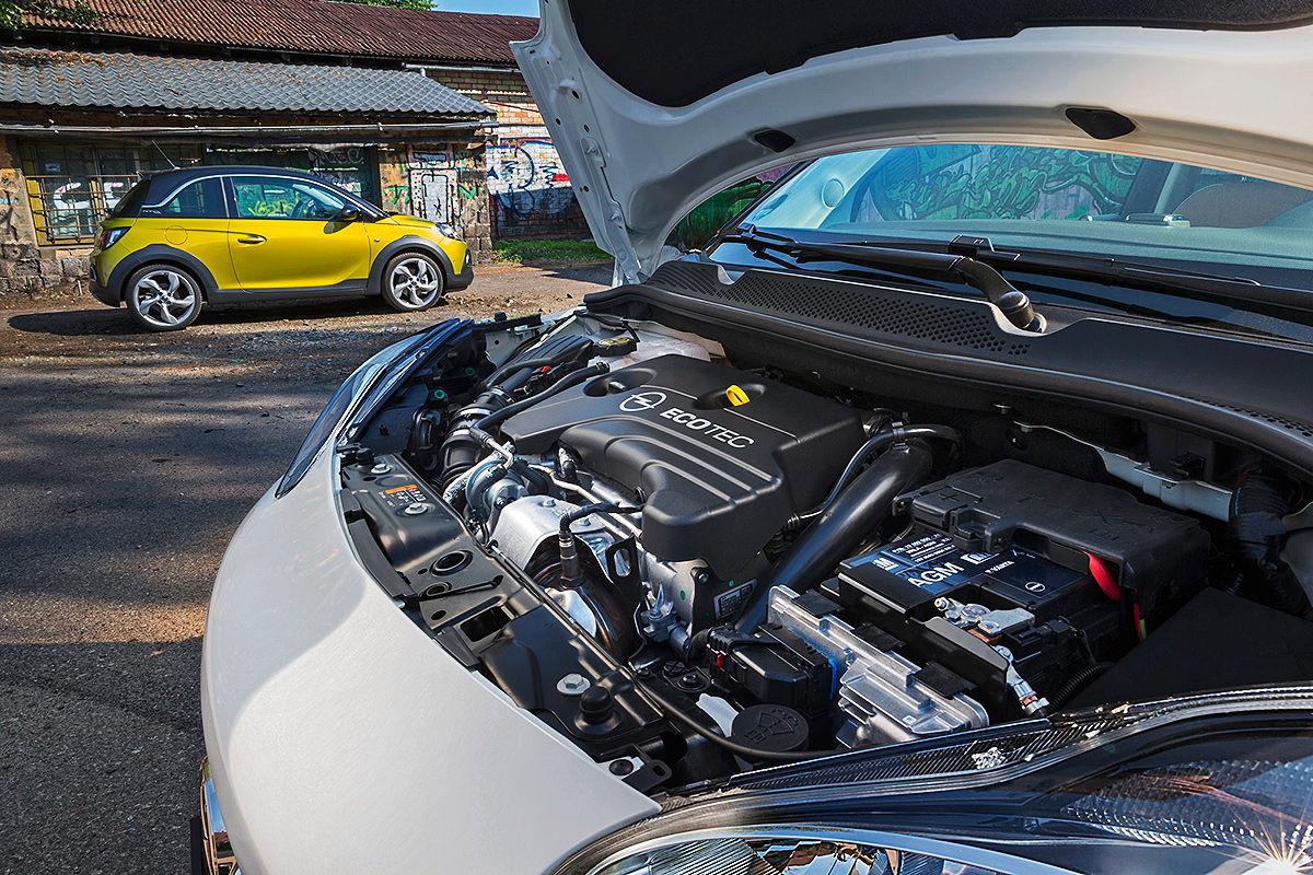 Opel Adam Rocks Motor