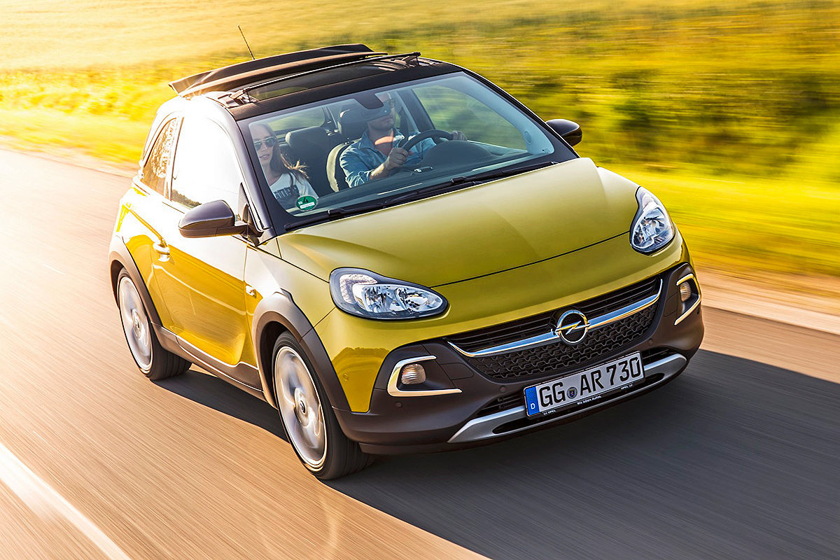 Opel Adam Rocks gelb