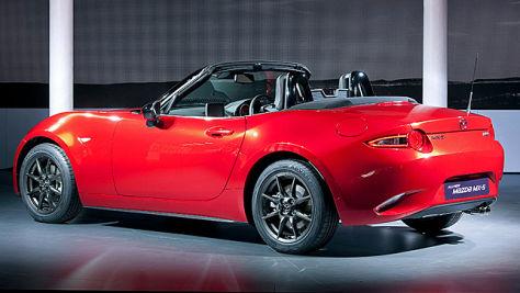 Mazda MX-5: Sitzprobe