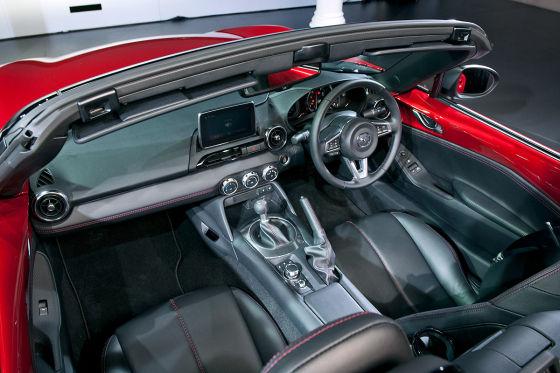 Mazda MX-5 Enthüllung