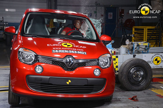 Renault Twingo Euro NCAP Crashtest: September 2014