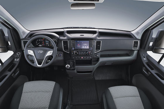 Hyundai H350 Innenraum