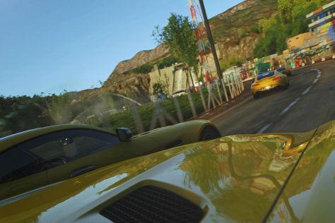 Mercedes-AMG GT im Playstation-Spiel Driveclub