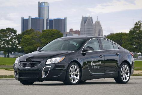 """Opel Insignia mit """"Super Cruise"""" für autonomes Fahren"""