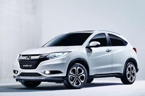 Honda Hr V 2015 Vorstellung Und Preise Autobild De