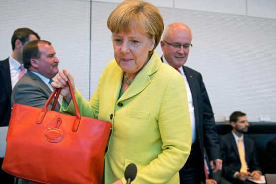 Merkels Machtwort, das keins sein soll