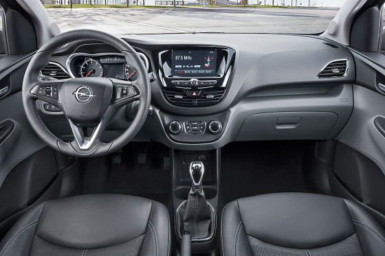 Opel Karl Cockpit