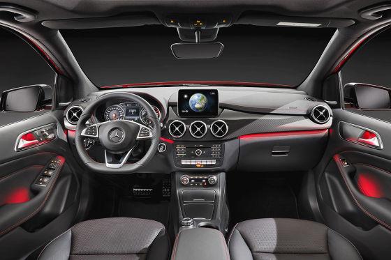Mercedes B-Klasse Cockpit