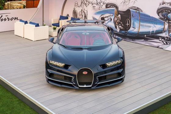 Ausblick auf den Bugatti Chiron