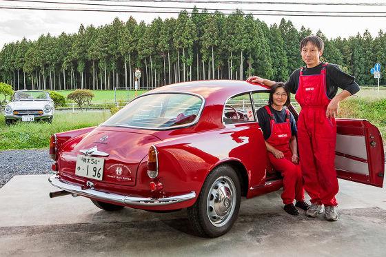 Oldtimer-Restaurator Toru Ishikawa