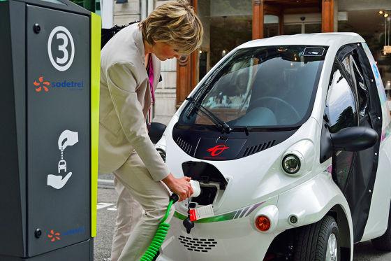 Toyota Coms Elektroauto