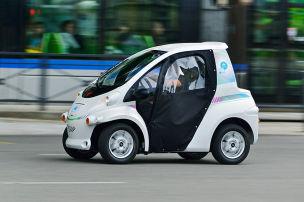 Toyota elektrifiziert Grenoble