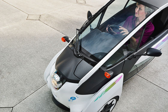 Toyota I-Road Elektroauto