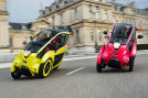 Toyota i-Road Carsharing mit Elektoautos in Grenoble