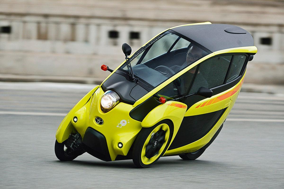 Toyota i-Road: Fahrbericht