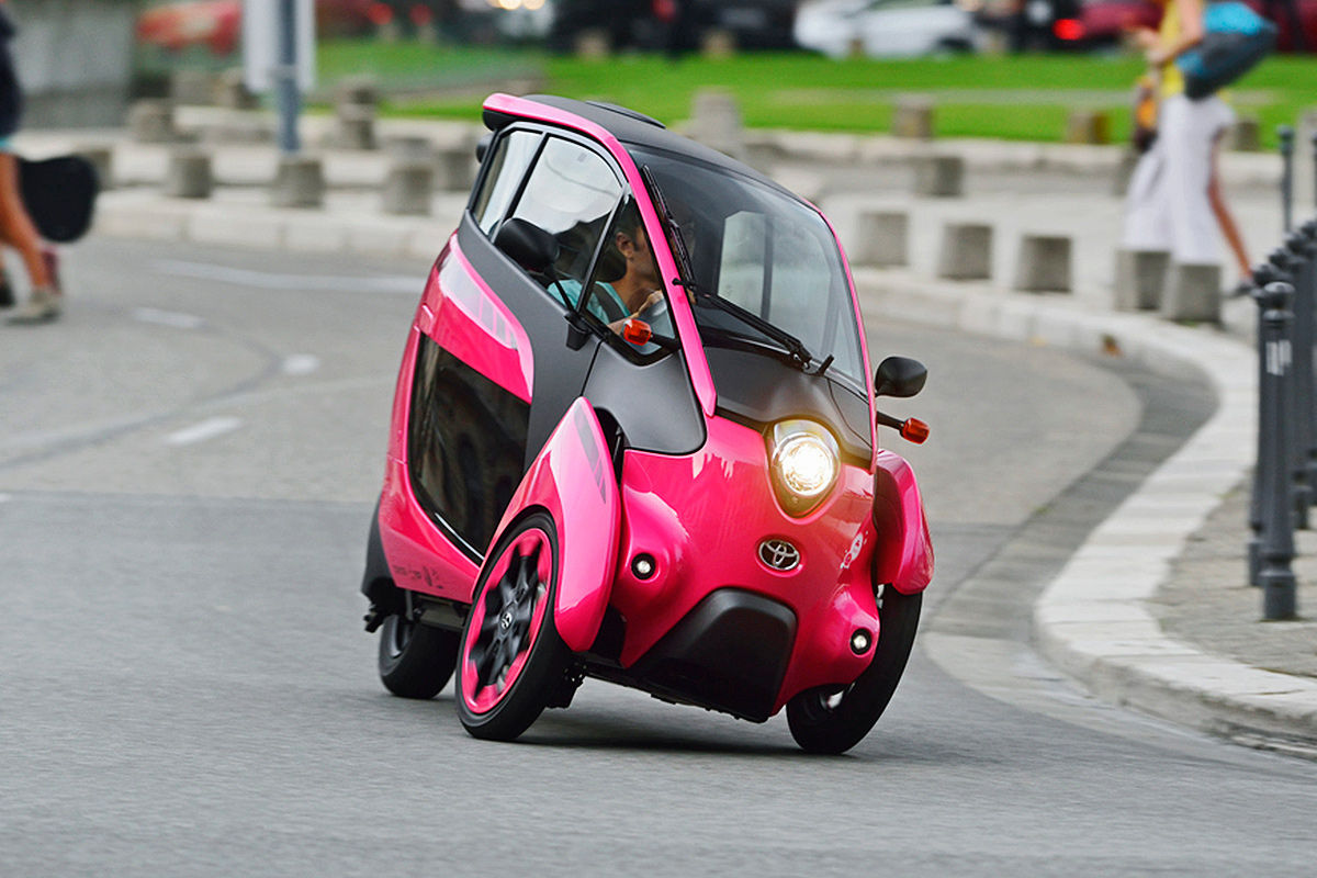 Toyota i-Road Twizy-Konkurrent