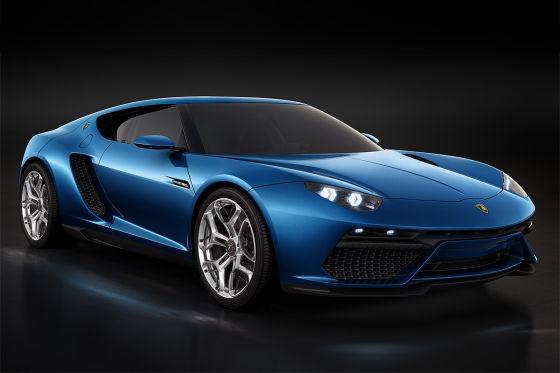 Lamborghini-Studie Asterion Paris 2014