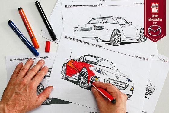 Design your MX-5: Ihre Entwürfe
