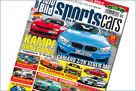 AUTO BILD SPORTSCARS 10/2014