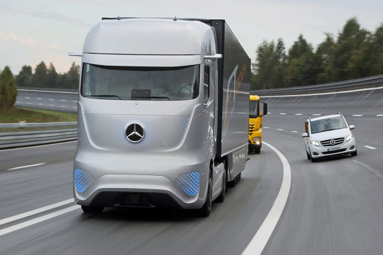 mercedes future truck 2025: fahrbericht - autobild.de