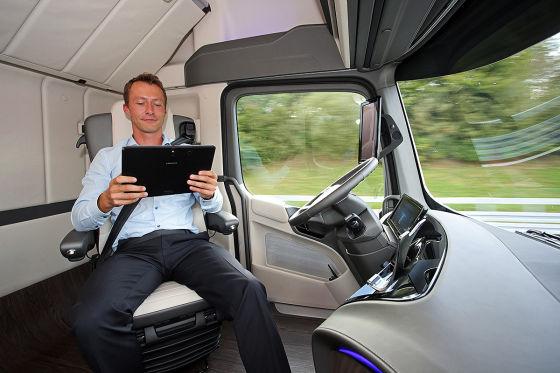 So fährt der Lkw der Zukunft