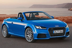 Audi TT oben ohne