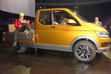 Neuer Bus: Im VW Tristar Concept steckt ganz viel T6 ...