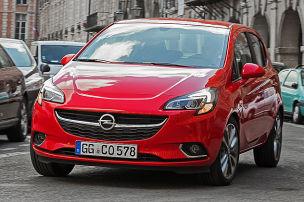 So f�hrt der Opel Corsa