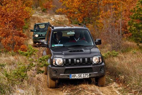 Suzuki Jimny: Rückruf