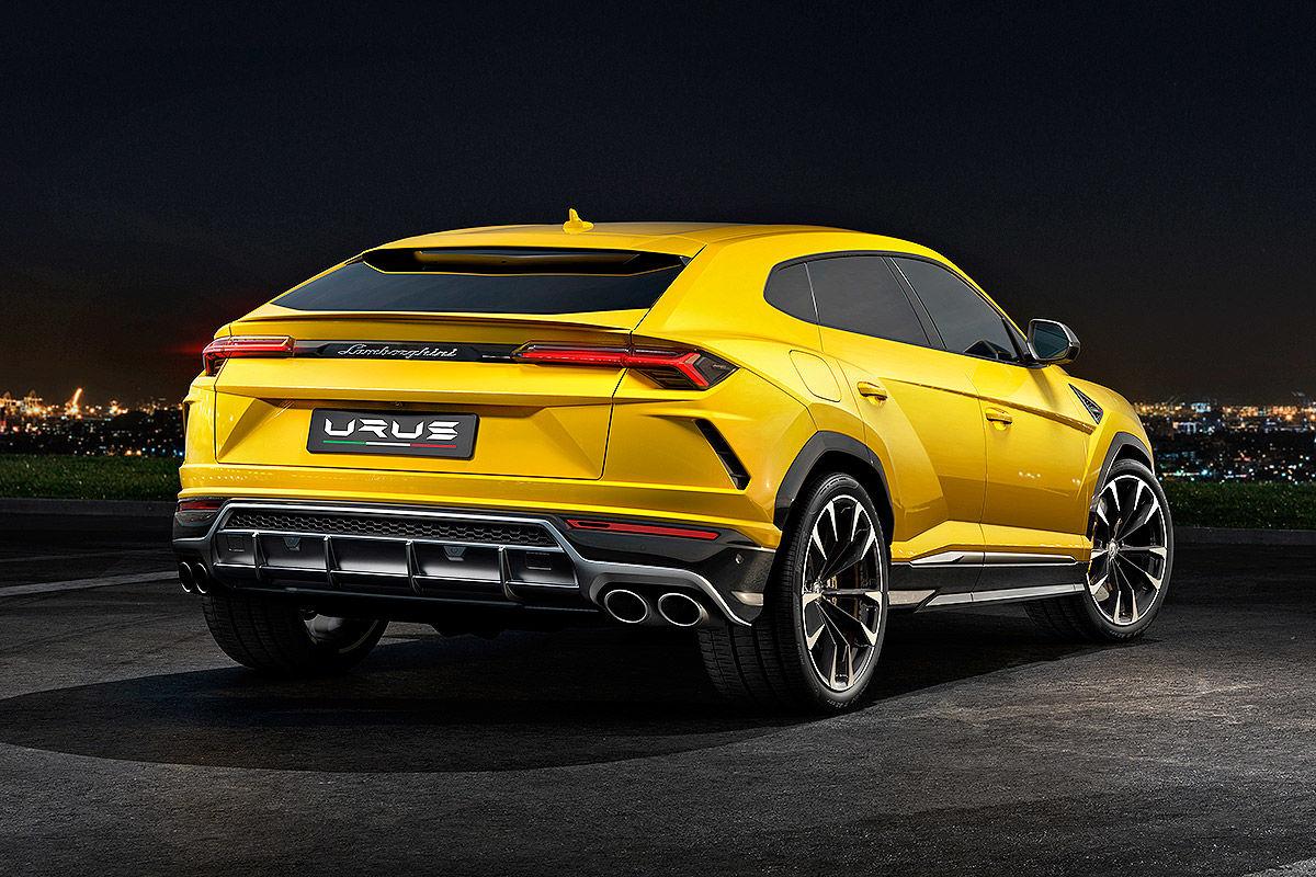 Lamborghini Urus (2018): Erlkönig