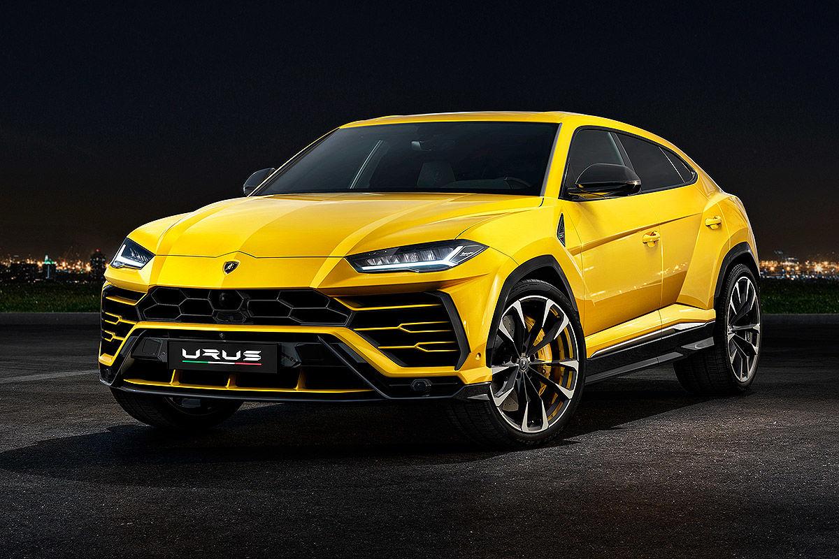 Lamborghini Urus (2018): Erste Infos und Bilder