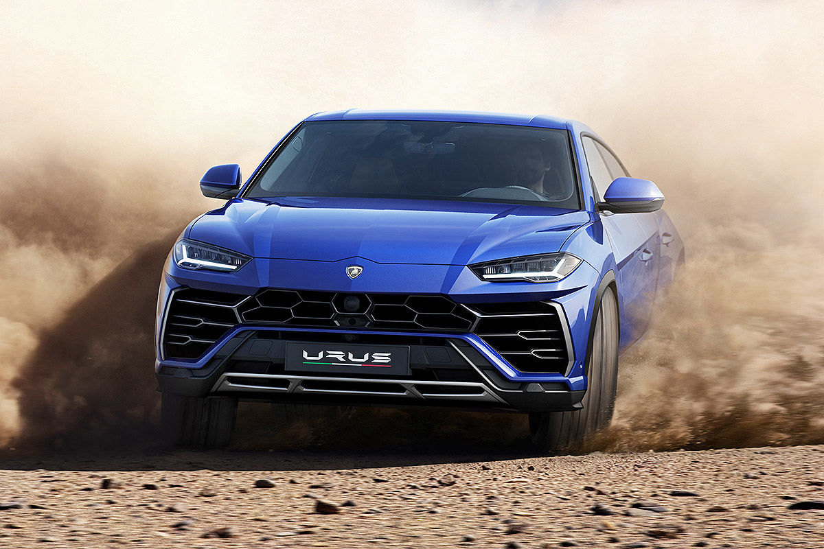 lamborghini urus 2018 test bilder. Black Bedroom Furniture Sets. Home Design Ideas